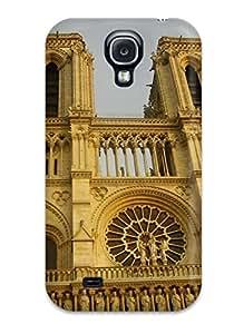 Excellent Design Beautiful Notre Dame Phone Case For Galaxy S4 Premium Tpu Case
