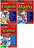 Action Learning SATS Key Stage 3 Triple Pack 1 (English, Maths, Science)