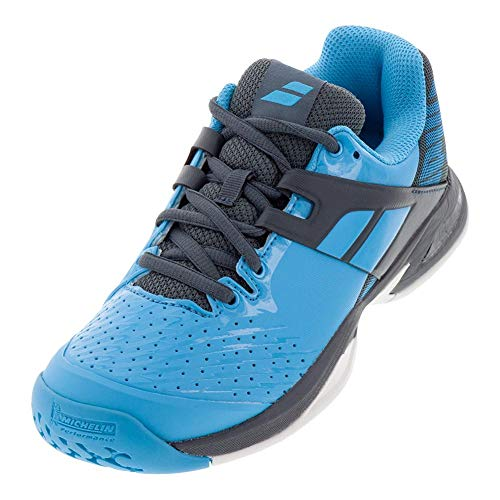 Babolat Kid's Propulse All Court Tennis Shoes, Blue/Grey (4 US)