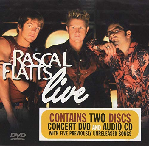 Rascal Flatts Live (DVD & Audio CD)