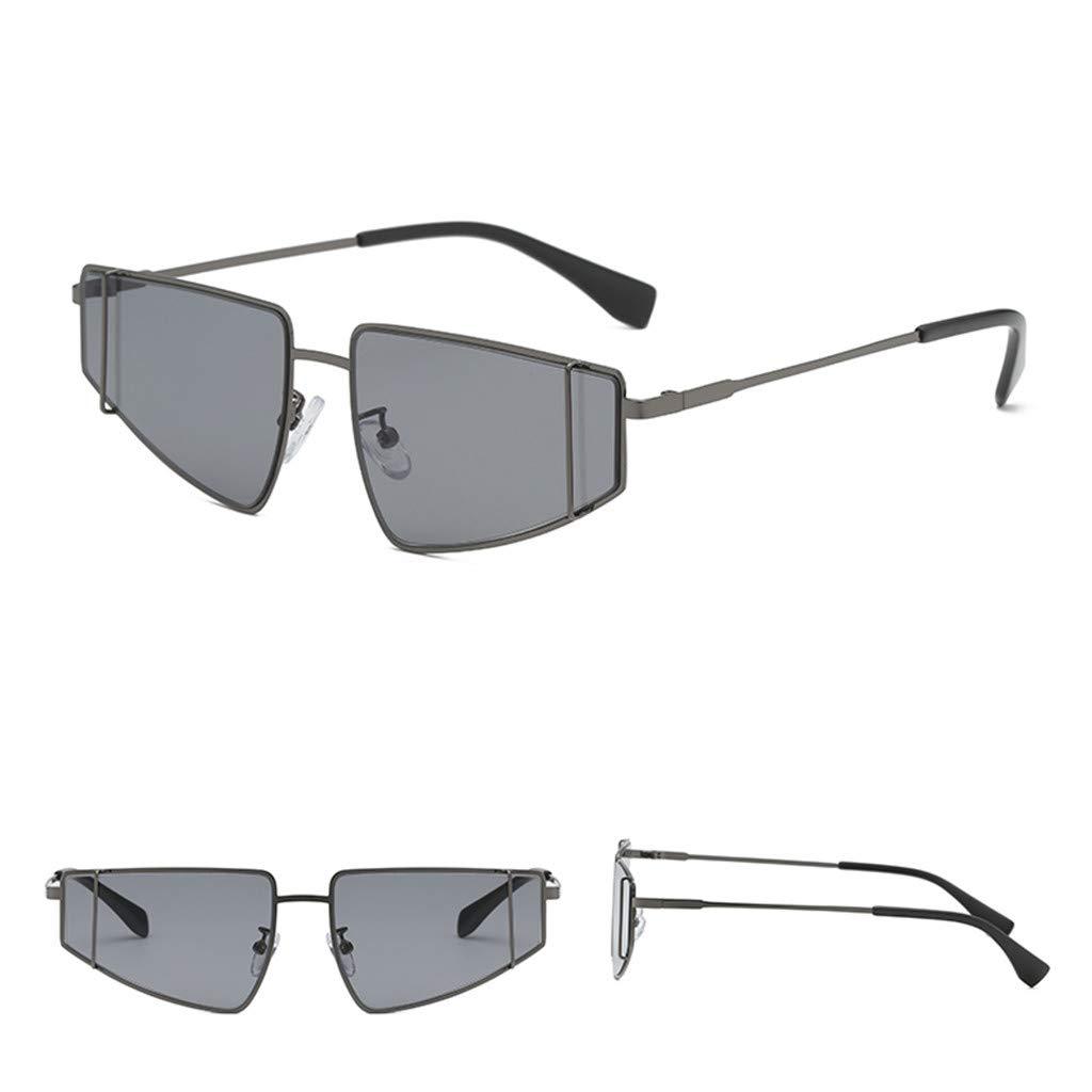 Sunglasses,Snowlily Fashion Man Women Irregular Shape Sunglasses Glasses Vintage Retro Style