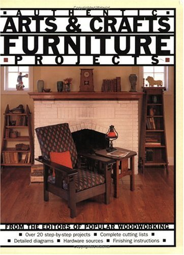Authentic Arts & Crafts Furniture Projects (Mission Arts And Crafts Furniture)