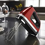 kitchenaid cinnamon red - KitchenAid KHM920gc 9-Speed Most Powerful Digital Display Power Hand Mixer Gloss cinnamon Dark Red