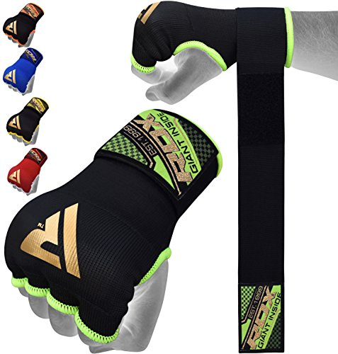 RDX Hand Wraps Boxing Inner Gloves MMA Fist Protector Bandages Training Mitts