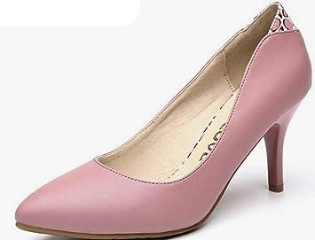 YTTY Ol Pointed Heels Pink 36  B0736TB7XV