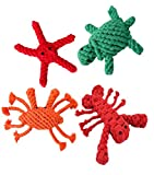 Cheap PET SHOW Dog Chew Rope Toys Set Interactive Puppy Cotton Teething Toy for Small Medium Large Dogs Pack of 4