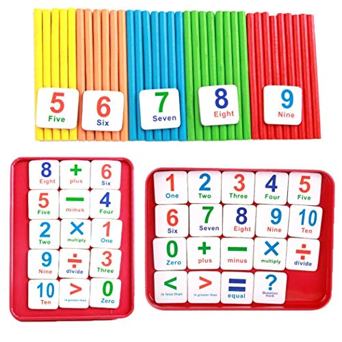 Children Wooden Counting Sticks Only $6.99