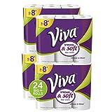 HEALTH_PERSONAL_CARE  Amazon, модель VIVA Choose-A-Sheet* Paper Towels, White, Big Plus Roll, 24 Rolls, артикул B01LFFGW5K