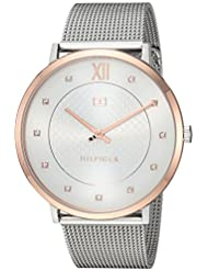 Tommy Hilfiger Womens SOPHISTICATED SPORT Quartz Two and Stainless Steel Casual Watch, Color:Silver-Toned (...
