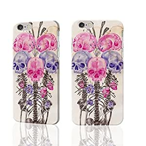 """Skull Lovely 3D Rough iphone 6 -4.7 inches Case Skin, fashion design image custom iPhone 6 - 4.7 inches , durable iphone 6 hard 3D case cover for iphone 6 (4.7""""), Case New Design By Codystore"""