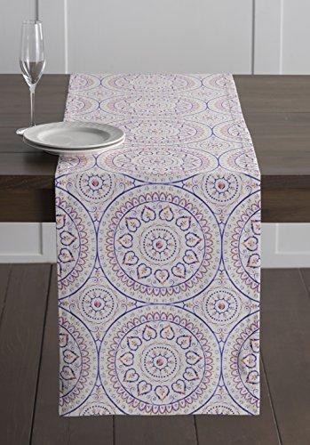Maison d' Hermine Mandala 100% Cotton Table Runner - Double
