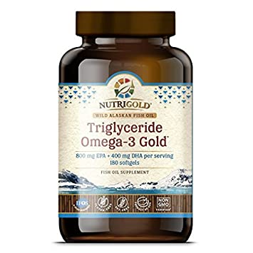 Amazon.com: Omega 3 Fish Oil Capsules - Triglyceride Omega-3 Gold ...