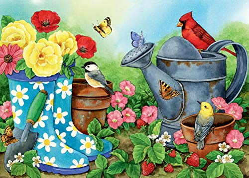 Ravensburger Garden Traditions Large Format 300 Piece Jigsaw Puzzle for Adults – Every Piece is Unique, Softclick Technology Means Pieces Fit Together Perfectly