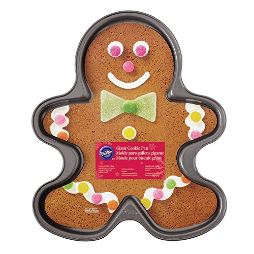 Wilton 2105-059 Nonstick Giant Gingerbread Boy Cookie Pan (Giant Cookie Pan compare prices)