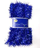 Christmas Elegance 36 FT Christmas Garland Classic Christmas Decorations, Blue
