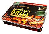 Disposable Charcoal Grill On-the-Go Ready to Use EZ To Light Kosher By Oppenheimer USA For Sale