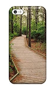 For ZREXhgo11949NWKga Pathway In The Forest Earth Nature Forest Protective Case Cover Skin/iphone 5/5s Case Cover