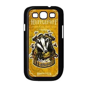 Harry Potter Hogwarts School Of Witchcraft Hufflepuff House Badges Samsung Galaxy S3 I9300 Custom Hard Snap-on Back Cover Case