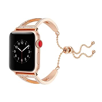 JAYE Apple Watch 38Mm & 42 Mm Banda De Correa, Espumoso Iwatch ...