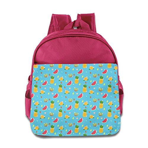Summer Fairy Mask (PHILLIP LEMONS Summer Fruit Funny School Backpack Children School Bag For Kids)