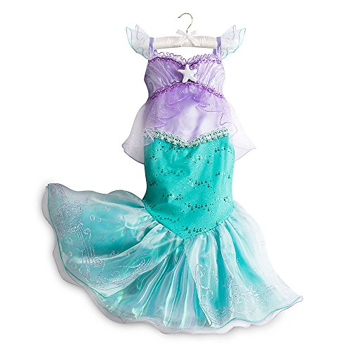 Disney Ariel Dress (Disney Ariel Costume for Kids Size 5/6 Purple)