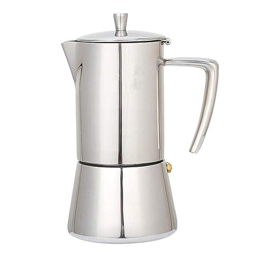 B Blesiya Percolador De Café Exprés Superior De 4 O 6 Tazas ...