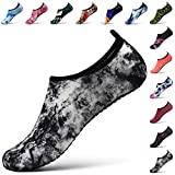 STEELEMENT. Water Yoga Shoes for Men Women Sports Socks Surfinf Shoes Stockings Hiking Climbing Swimming Athletic (M(US Size:Women7.5-8.5,Men:6.5-7.5), WS30-38)
