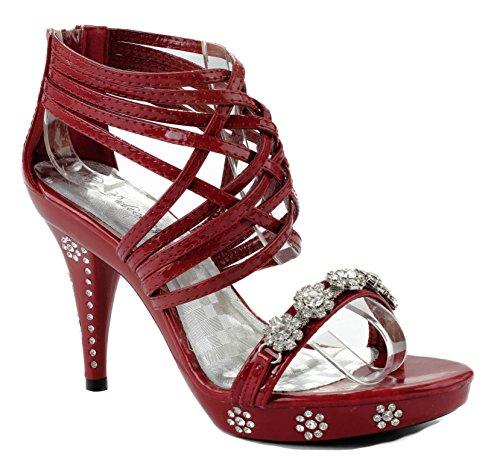 Delicacy party 7 US shoe Red Womens D M 27 Teresa Hq1wHar