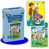 What Are They Asking? Fun Deck Cards - Super Duper Educational Learning Toy for Kids