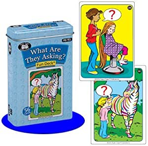 Amazon.com: What Are They Asking? Fun Deck Cards - Super ...