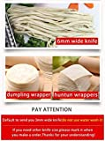 JIQI Stainless Steel Household Rolling Dough