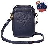 Crossbody purse for Women,HAIDEXI Small Crossbody Bags Cell Phone Purse women phone holder Smartphone purse For Women (C-Deep Blue)
