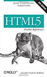 HTML5 Pocket Reference (Pocket Reference (O'Reilly)) by Robbins, Jennifer Niederst Published by O'Reilly Media 5th (fifth) edition (2013) Paperback