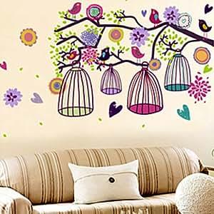 Holiday decoration wall decor removable decal for Christmas wall art amazon