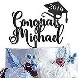 Personalized Congrats Grad Cake Topper | Acrylic Graduation Cake...