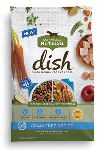 Rachael Ray Nutrish Dish Premium Natural Dry Dog Food,...