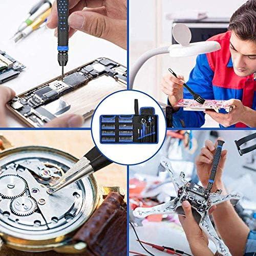 lqgpsx Precision Screwdriver Set 126 in 1 Torx Screw Driver Bit Hex Bits Multitools Home Phone Repair Hand Tools Kit