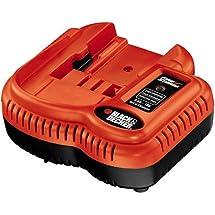 Black & Decker FSMVC 9.6-Volt to 18-Volt Slide Style Battery Charger