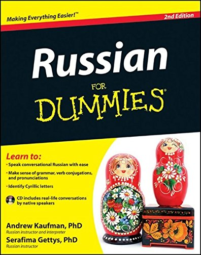 Russian For Dummies [Andrew D. Kaufman - Serafima Gettys Ph.D.] (Tapa Blanda)