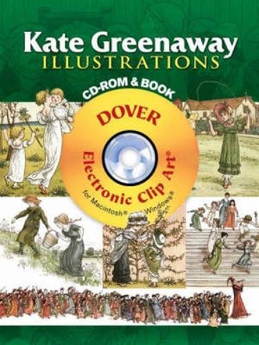 General Clipart - Kate Greenaway Illustrations CD-ROM and Book (Dover Electronic Clip Art)
