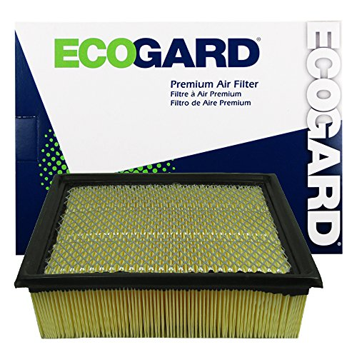 2015 Ford F150 Engine - ECOGARD XA5642 Premium Engine Air Filter Fits Ford F-150, F-250 Super Duty, Expedition, F-350 Super Duty / Lincoln Navigator / Ford F-450 Super Duty, F-550 Super Duty