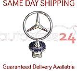 mercedes benz hood emblem e320 - MERCEDES BENZ HOOD STAR W210 E-CLASS E320 E420 E430 96-97-98-99-00-01-02 NEW