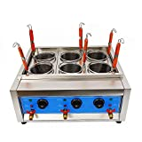 Commercial 4 Holes Noodle Cooker Machine, Electric