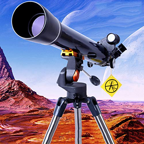 HUWAI Telescope for Beginners, 70Mm Aperture, Fully Multi-Coated Optics, Telescopes for Adults, Astronomy Refractor Telescope Portable Travel Scope with Tripod