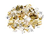 GOLD Premium Outdoor Fire Glass Rock 5-pound 1/4' inch