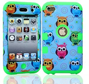 Touch 4 case,Carryberry touch 4 case,Touch 4 Cases,Touch 4 Case Cover,Cute design 3in1 hybrid case cover for ipod touch 4 4th (touch 4)