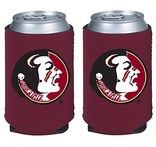 - NCAA College 2014 Team Logo Color Can Kaddy Holder Cooler 2-Pack (Florida State Seminoles)