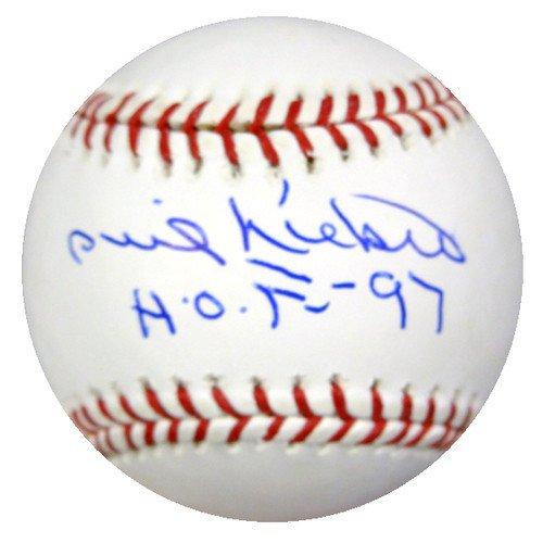 Phil Niekro Signed Rawlings Official Major League Baseball Atlanta Braves HOF 97 - PSA/DNA Authentication - Autographed MLB ()