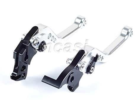 Orange FTRT Adjustable Short Brake Clutch Levers for KTM Duke 125 RC125 2014 2015 2016 2017 2018// KTM Duke 200 RC200 2014-2018//KTM Duke 390 RC390 2013-2018