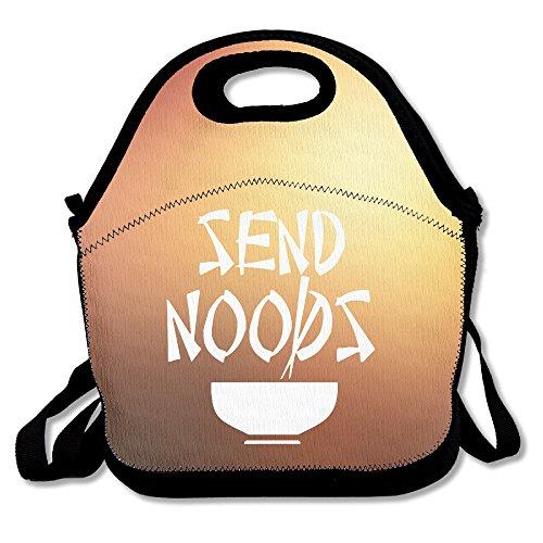 MAGGIE SALAS Send Noods Nice Lunch Bags Bags Travelling Picnic Storage Bag Backpack Handbag